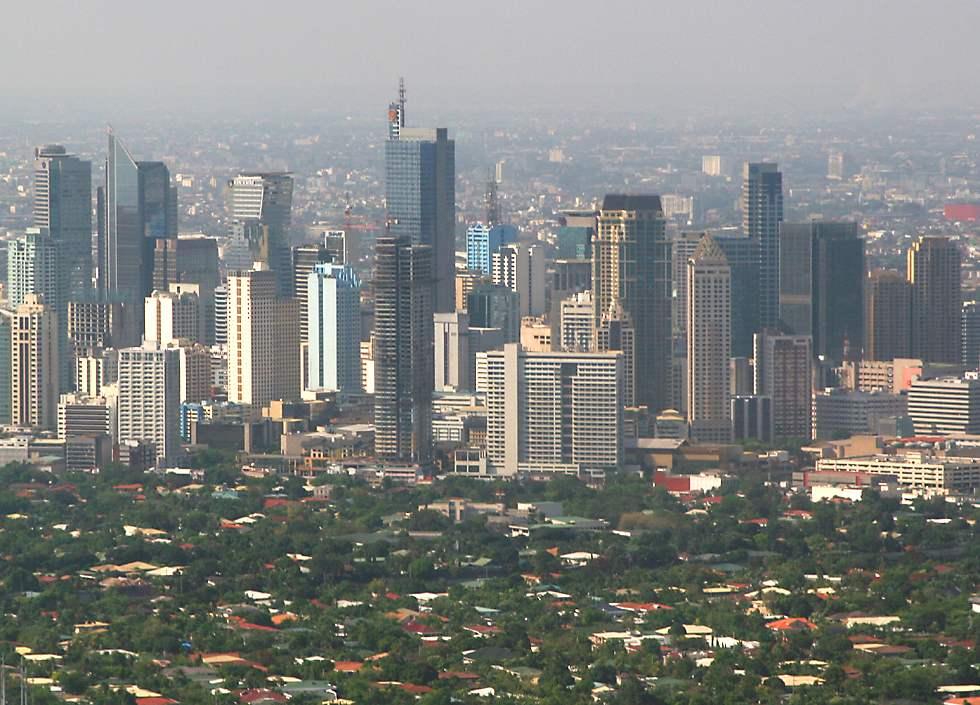 manila philippinerne kort