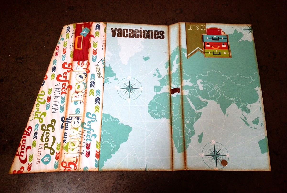 manualidades de scrap: libro de viaje