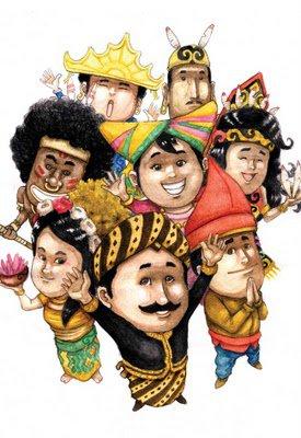 karikatur kebudayaan