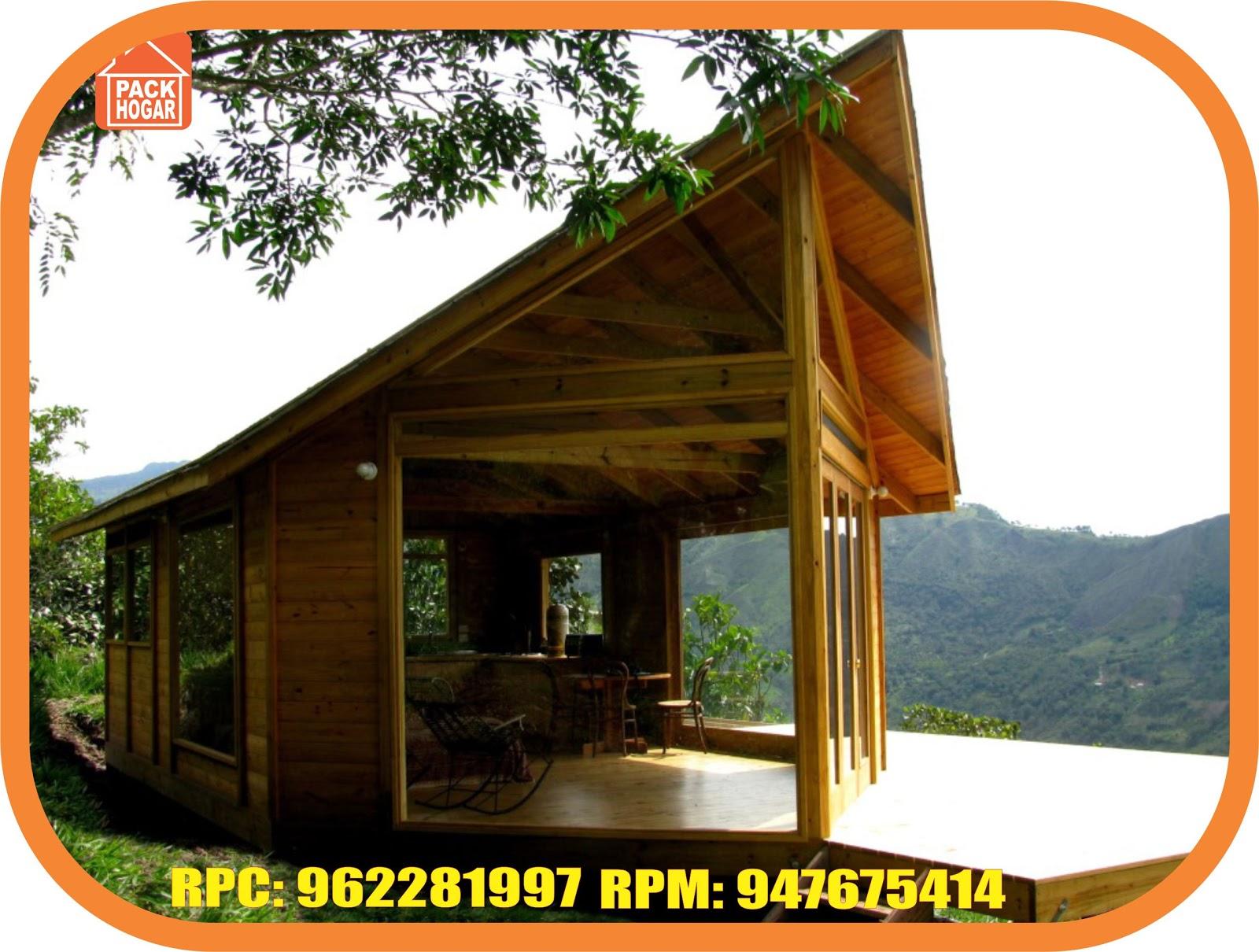 Casas de madera prefabricadas para campo selva peru - Propiedades de la madera ...