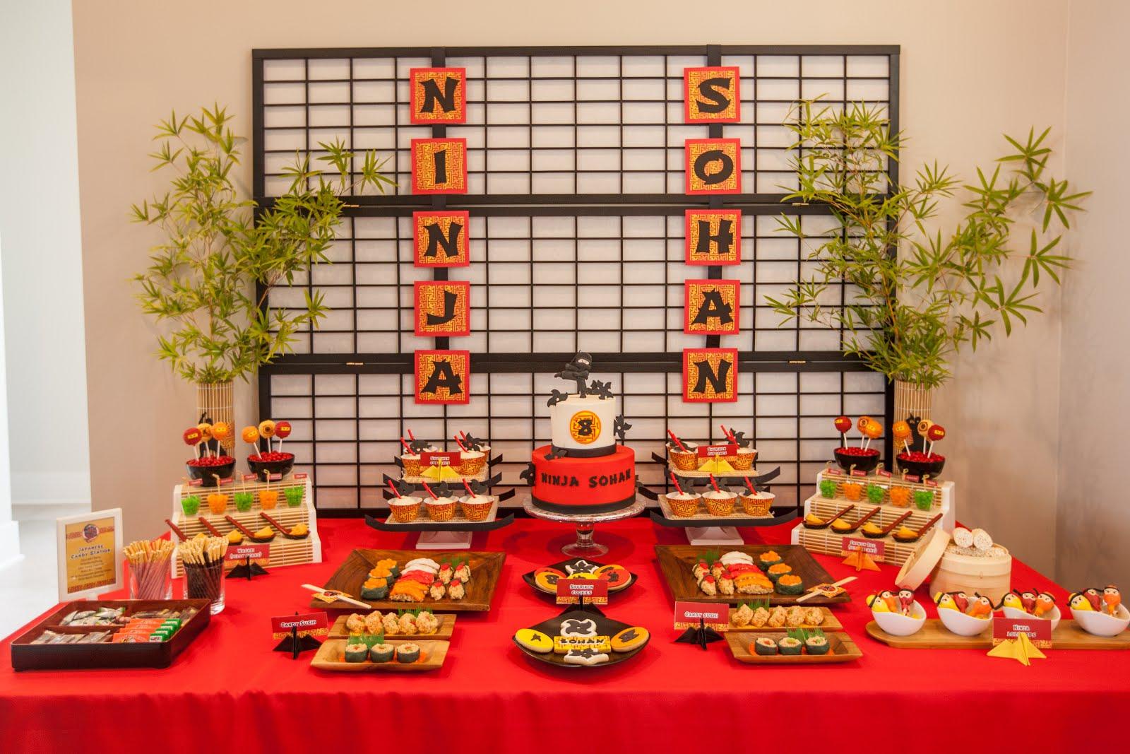 Origami Dojo A Japanese Inspired Birthday Party