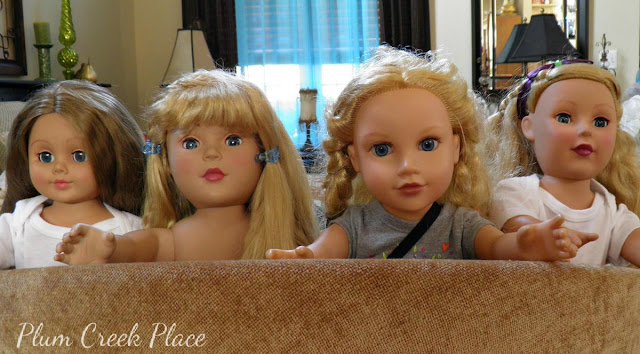 Little Jo's Doll Party