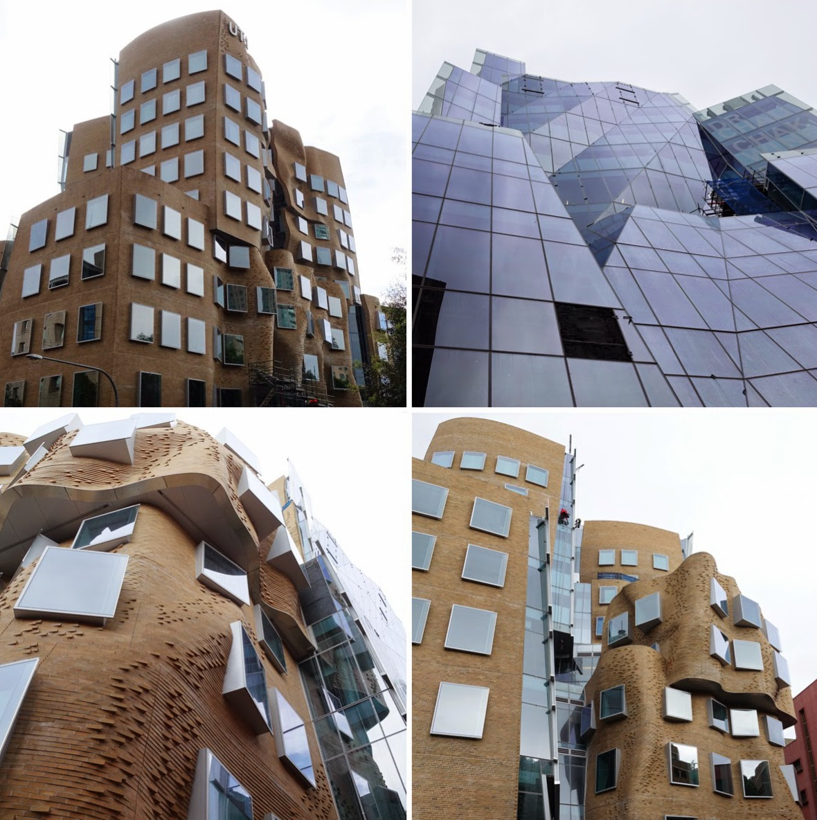 Paper bag building -  Is The Brickwork That Has Been Used For Gehry S Typical Double Curative Crazy Walls The Building Has Been Labelled The Crumpled Brown Paper Bag And
