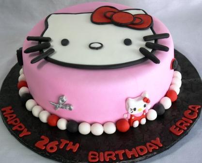 Cake Hello Kitty Birthday : Birthday Cakes: Coolest Hello Kitty Birthday Cake