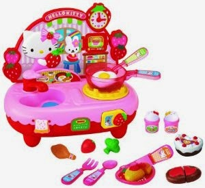 Gambar Hello Kitty Memasak Cooking Games Kitchen Set