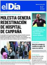 11/07/2020      CHILE  UNA  PRIMERA PÁGINA DE LA PRENSA