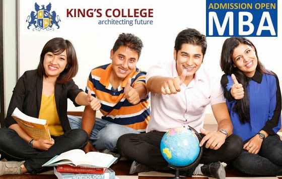 Admission Open for MBA from King's College
