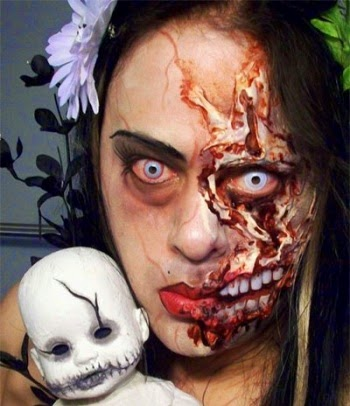 Scary Halloween Make Up Ideas