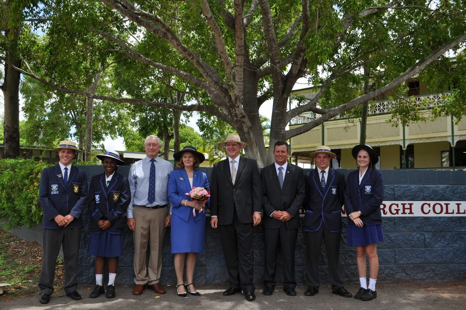 Her Excellency ,the Governor of Queensland, Ms Penelope Wensley AC visits BTC