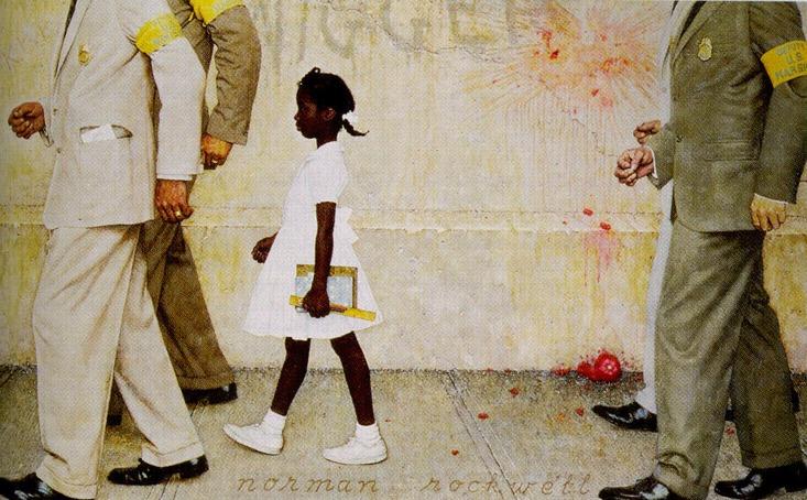 Maleshia J.'s Blog: Ruby Bridges - Brave for Education