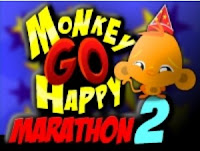 Monkey Go Happy Marathon 2 walkthrough.