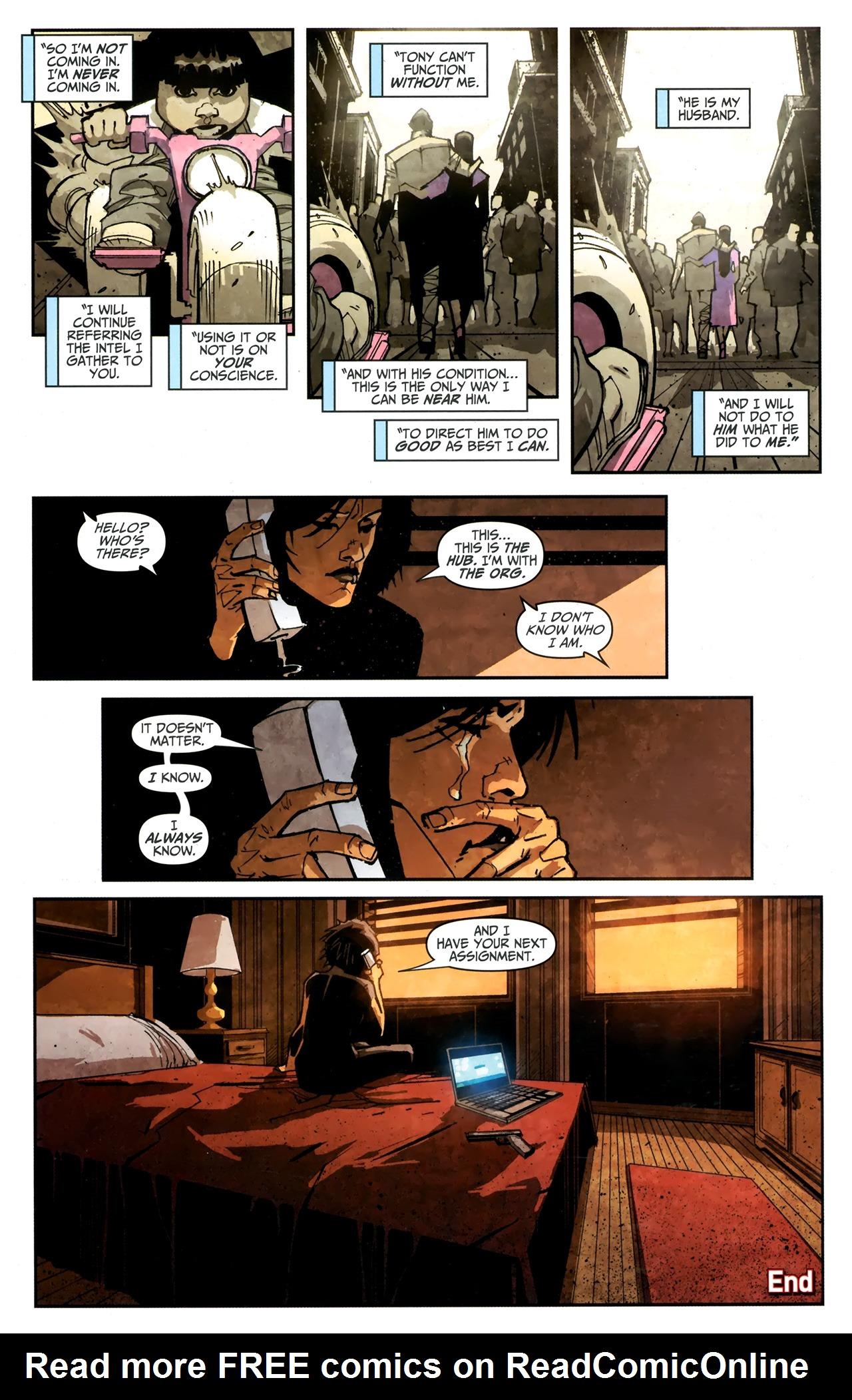 Read online Taskmaster (2010) comic -  Issue #4 - 23