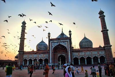 jama masjid , old delhi