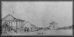 Antiga e primeira Matriz de Franca em 1827