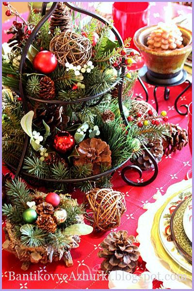 украсить новогодний стол своими руками