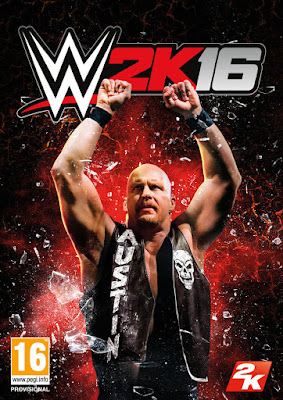 WWE 2K16 Stone Cold Steve Austin Cover Art Download