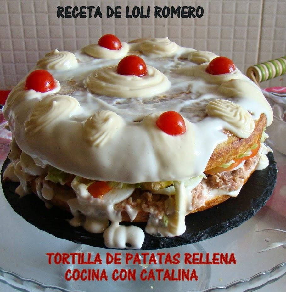 cocina con catalina tortilla de patatas rellena receta On cocina con loli