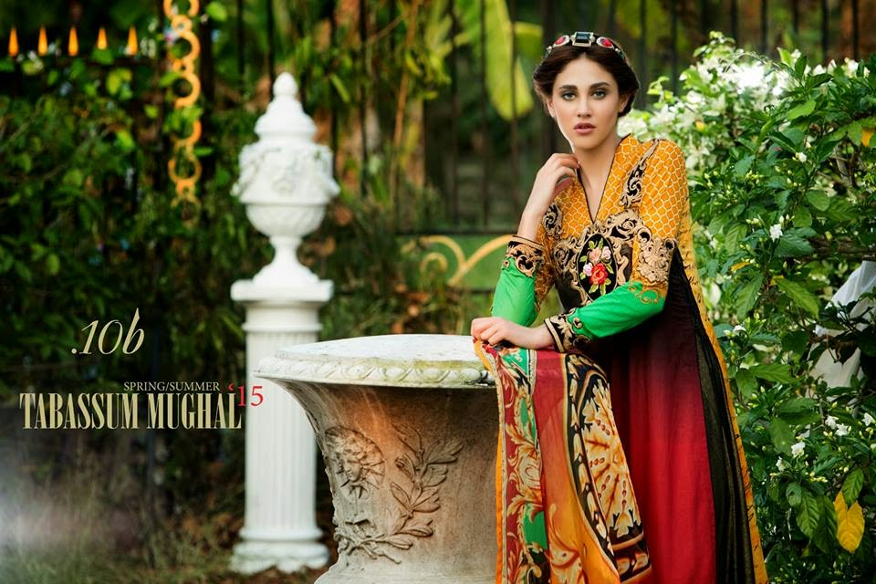 Tabassum Mughal summer lawn collection 2015