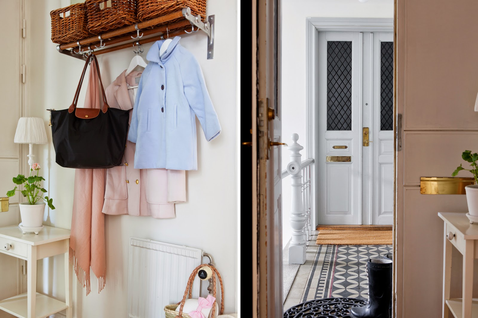 Scandinavian Interior, Scandinavian Hallway