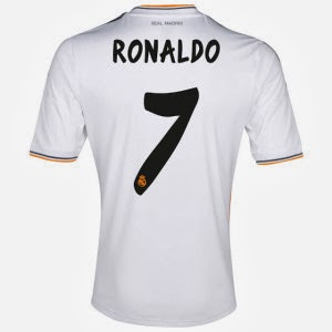 Cristiano Ronaldo named the highest selling shirt in 2013