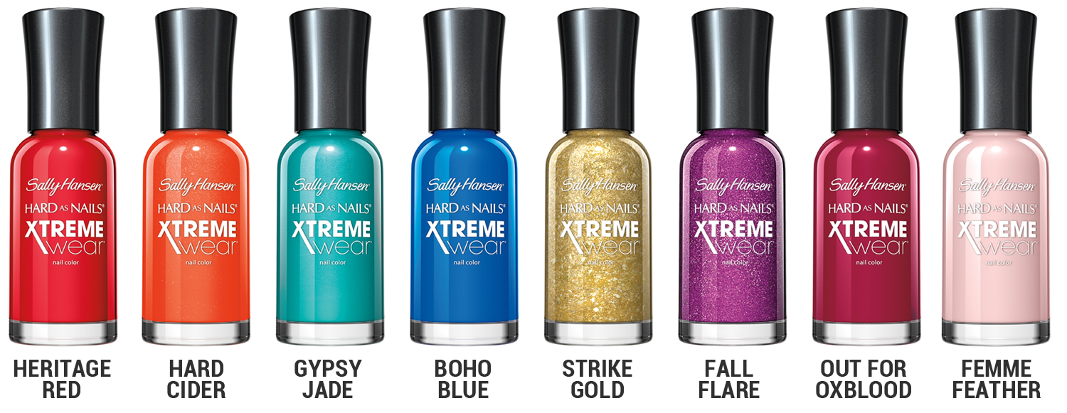 Chalkboard Nails News: Sally Hansen Hard As Nails Xtreme Wear for ...