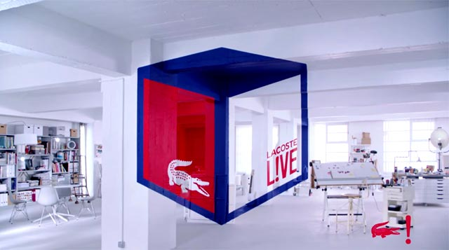 Ilusión óptica de Lacoste Live