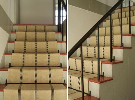 otra alternativa en la decoracion de escaleras es que las pintes tu mismo selecciona un diseno que combine con el resto de tu decoracion y que le de un