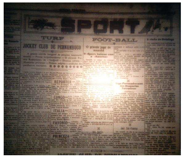 MEMÓRIAS ESMERALDINAS ESPECIAL: América 3x1 Sport em jan-1919. AMÉRICA, CAMPEÃO 1918