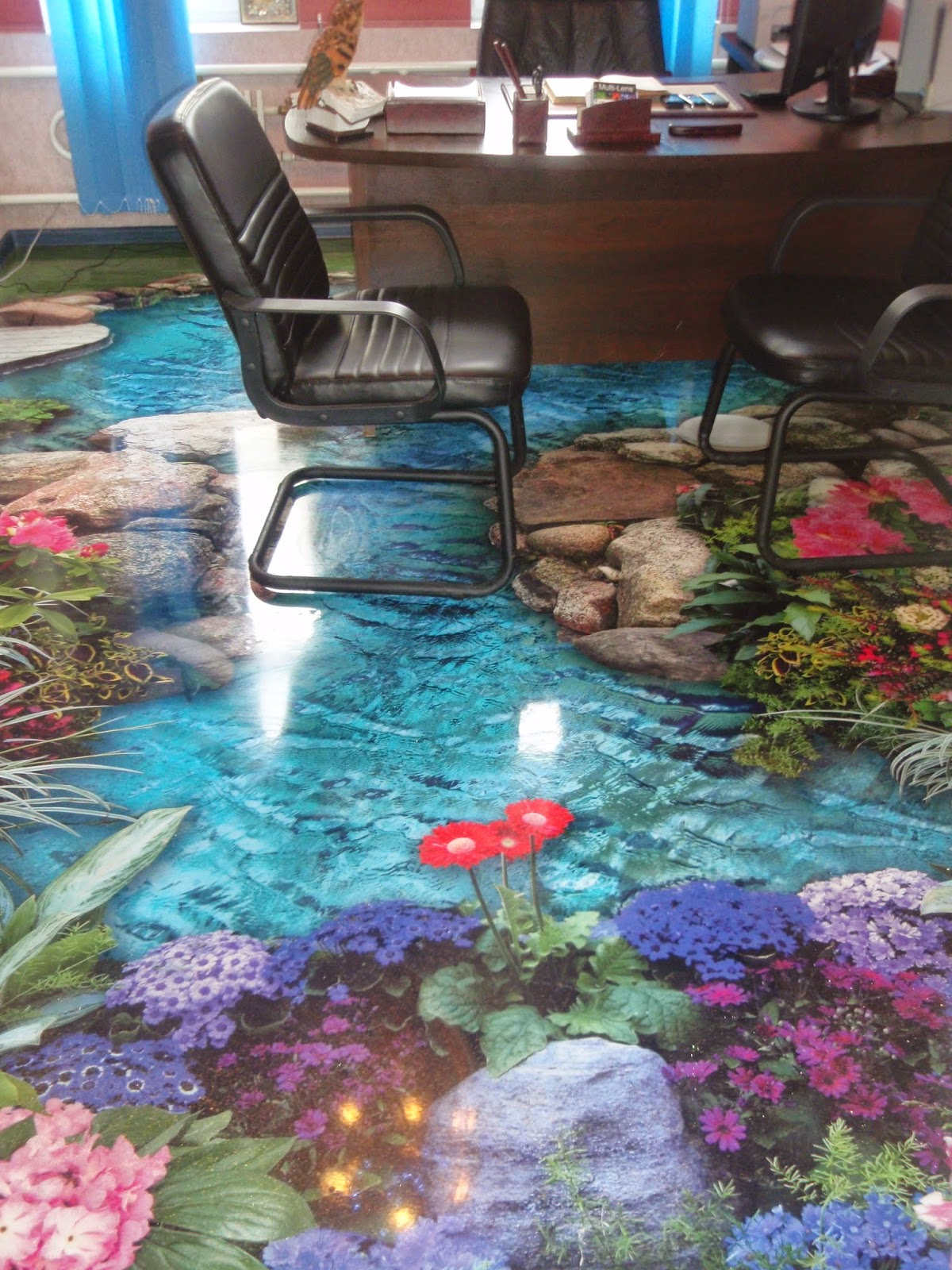 Bytes 3d floors and walls for 3d wallpaper for home floor