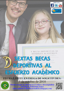 BECAS DEPORTIVAS AL ESFUERZO ACADÉMICO
