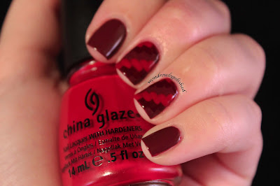 Wondrously Polished: 31 Day Nail Challenge - Day 1: Red