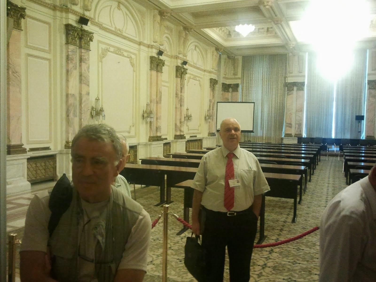 Prof.Florin Munteanu, ing.J.-B. Deloly, Palatul Parlamentului, 20/07/2012