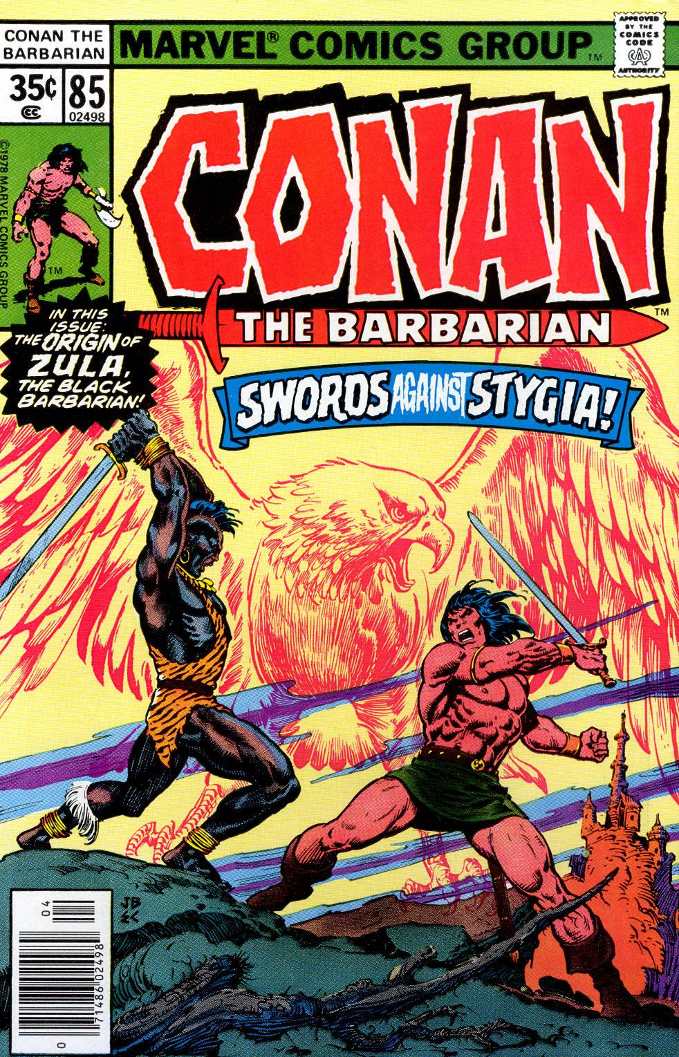 Conan the Barbarian (1970) Issue #85 #97 - English 1