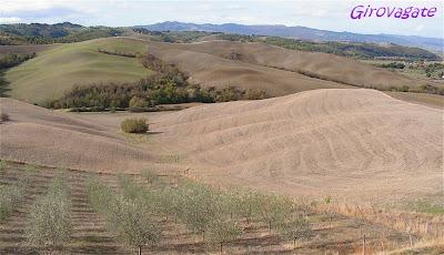 paesaggio Volterra