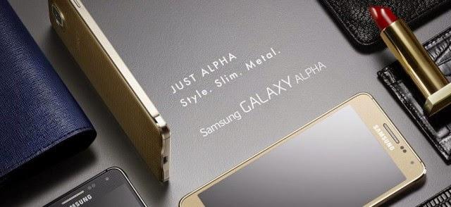 Al fin termino la espera y fue presentado el Samsung Galaxy Alfa