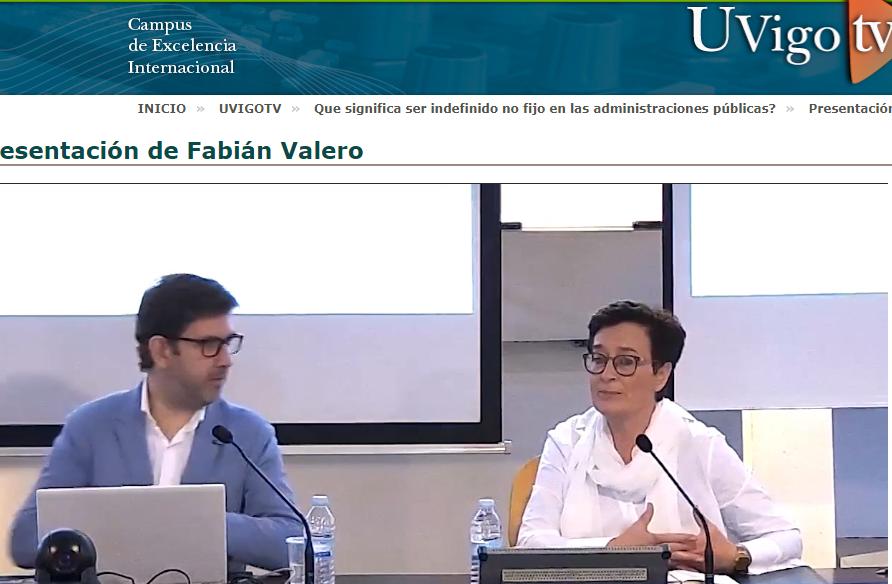 Conferencia Fabián Valero