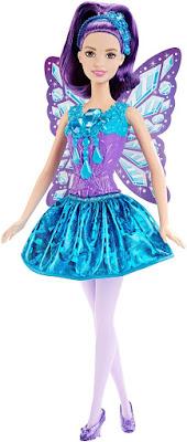 TOYS : JUGUETES - BARBIE Fairy - Gem Fashion  Muñeca Hada - Doll  Producto Oficial 2015 | Mattel DHM55 | A partir de 3 años  Comprar en Amazon España & buy Amazon USA