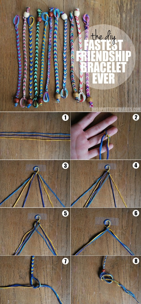 http://www.ohsoprettythediaries.com/2012/05/diy-fastest-friendship-bracelet-ever.html