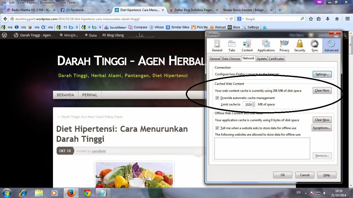 Firefox Cara Mempercepat Browsing