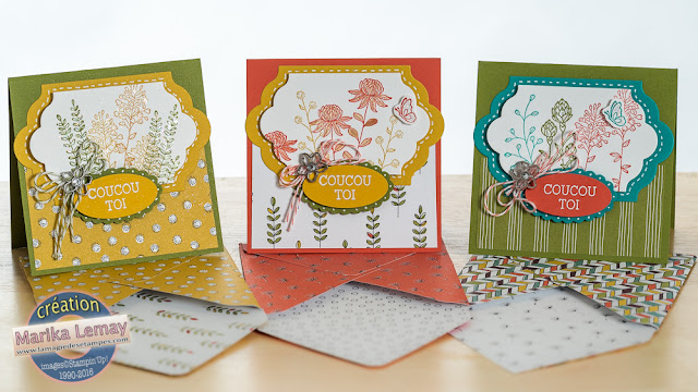 Sale-a-bration 2016 Flowering fields Stampin' Up!