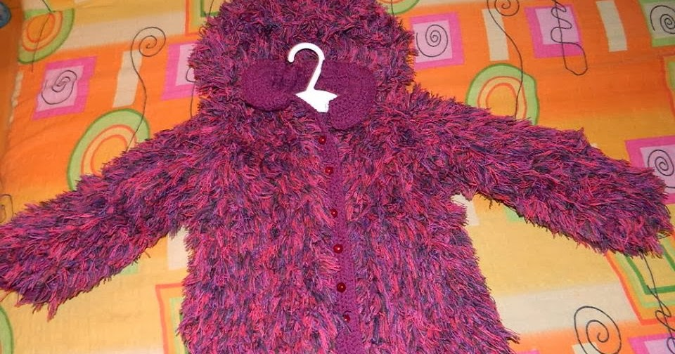 Crochet Stitches To Try : Crochet Patterns to Try: Knitted Baby Faux Fur Jacket Tutorial and ...
