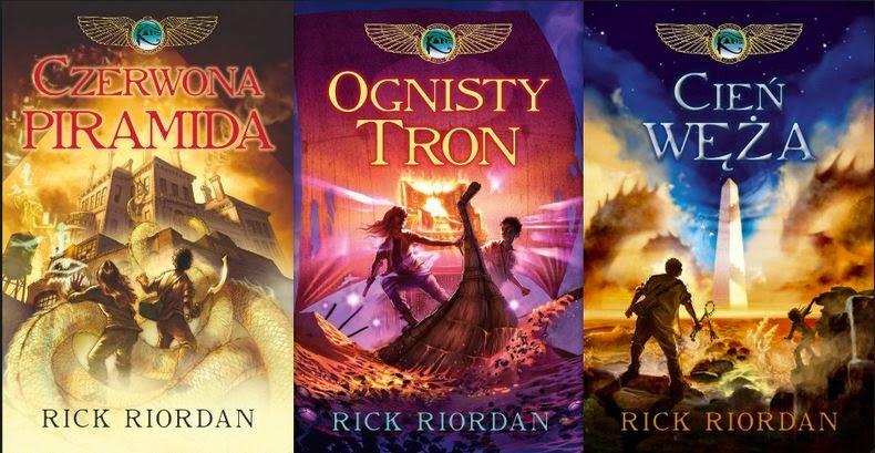 Kroniki Rodu Kane Rick Riordan - recenzja