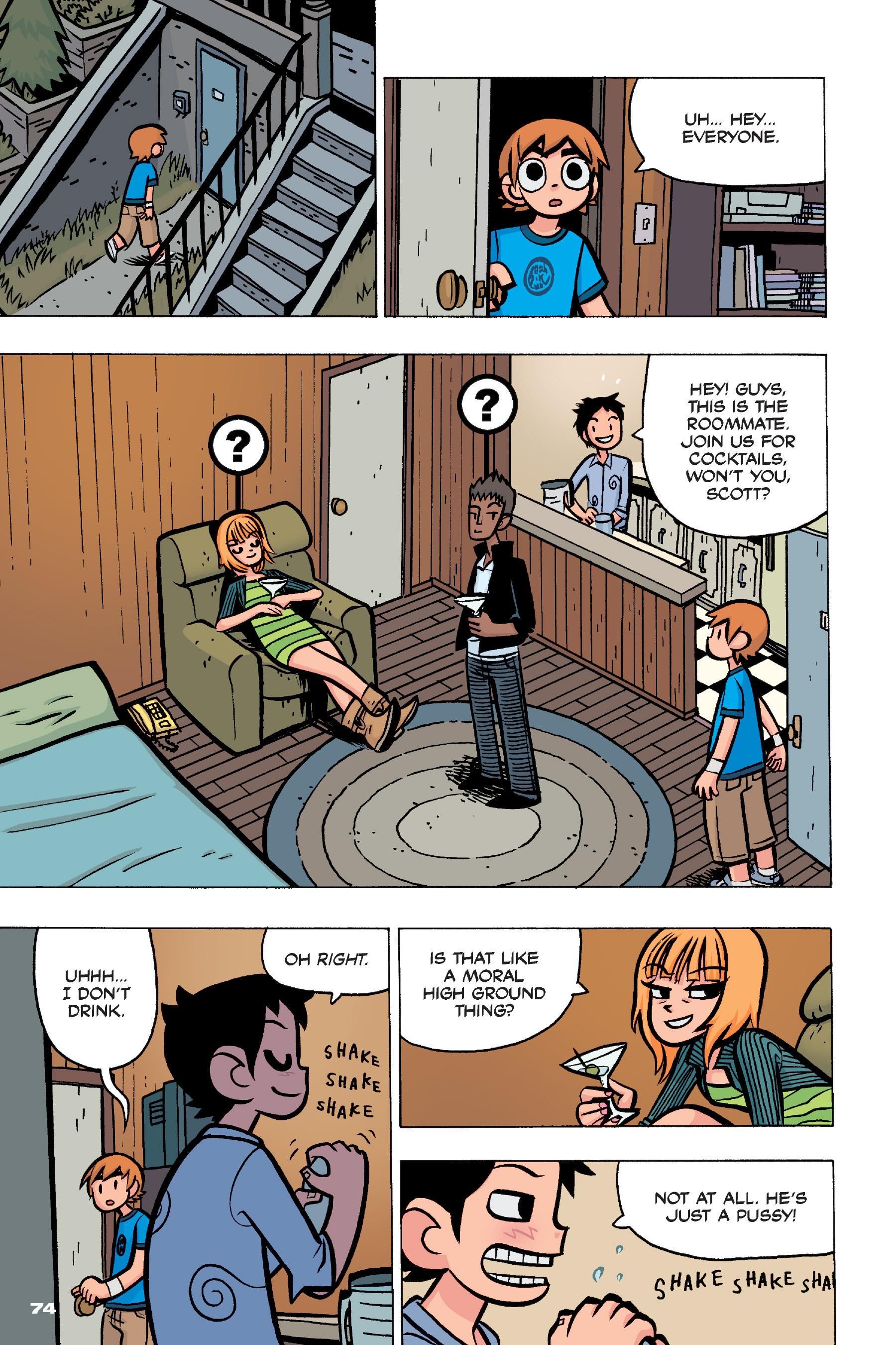 Read online Scott Pilgrim comic -  Issue #4 - 72