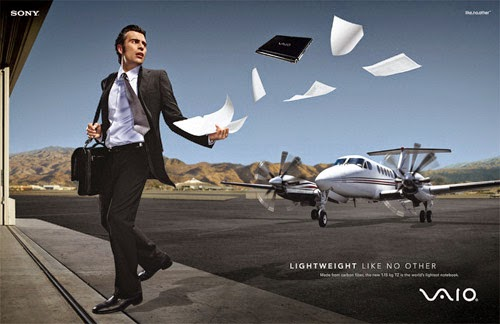 young business man with jet