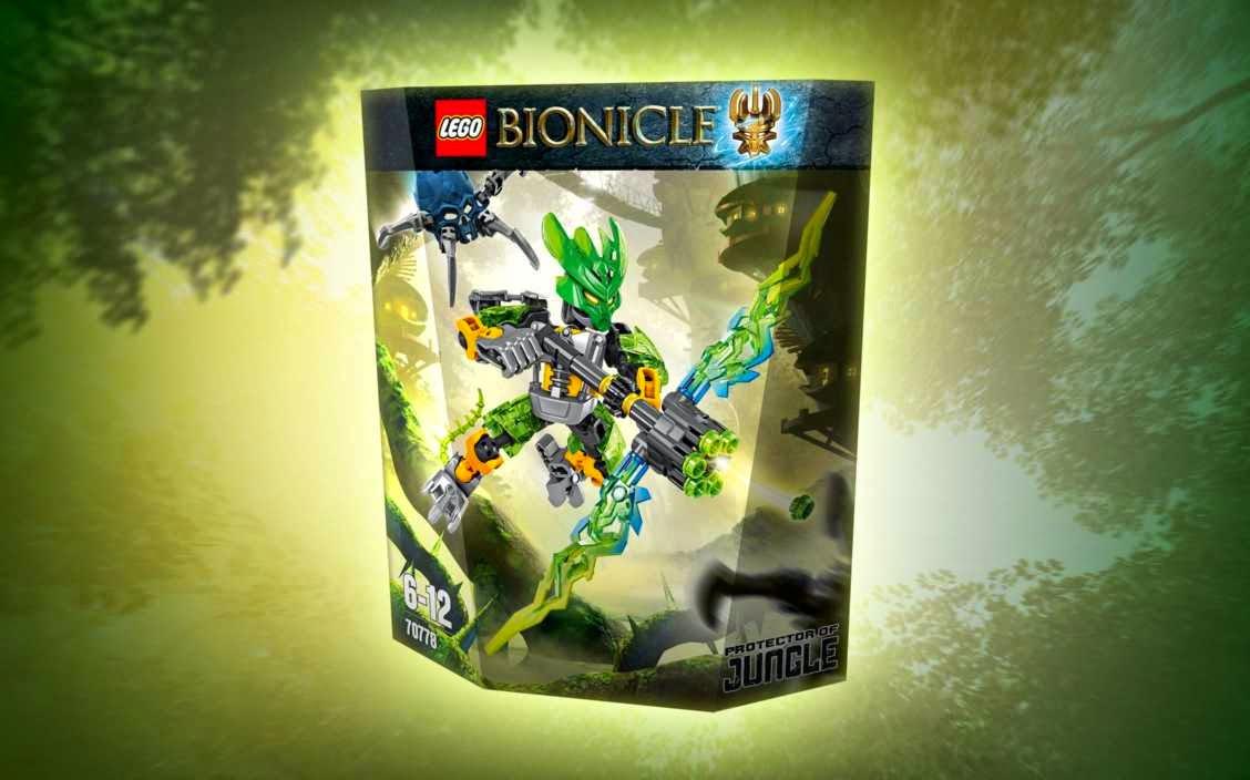 Lego Vệ Sĩ Rừng Xanh