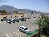 منظر من وسط مدينة أزويرات