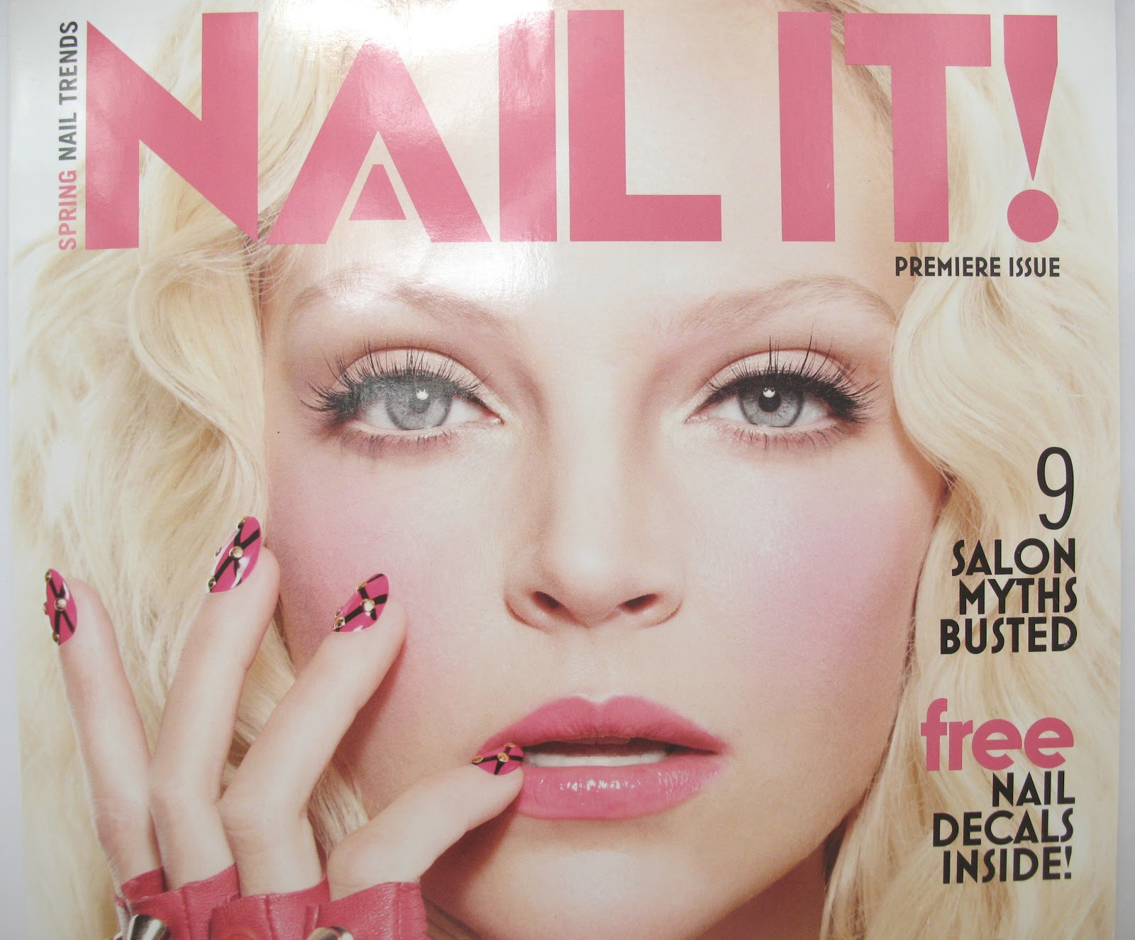 One Nail To Rule Them All: Nail It! Magazine launch