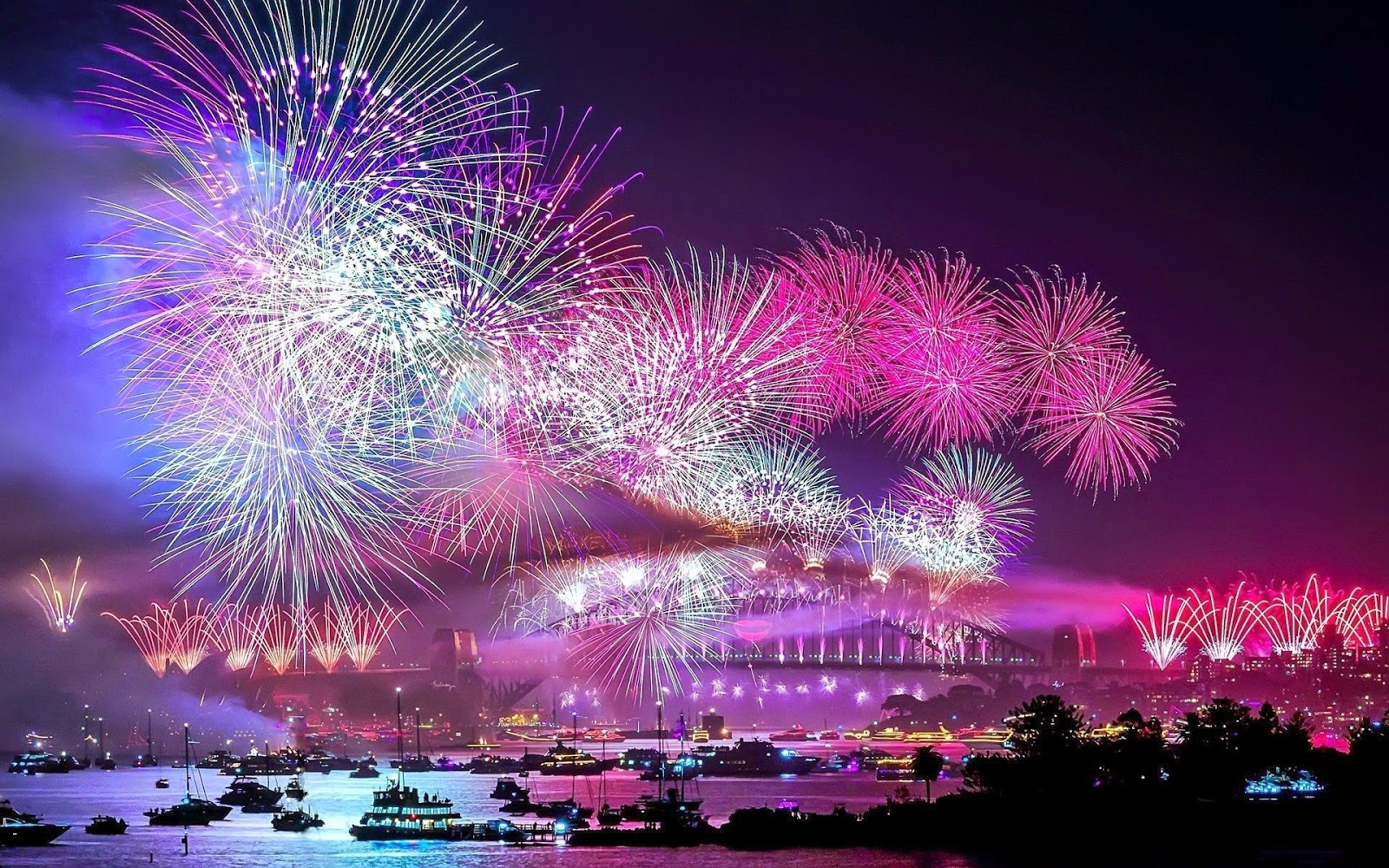 firework wallpaper happy new year 2015