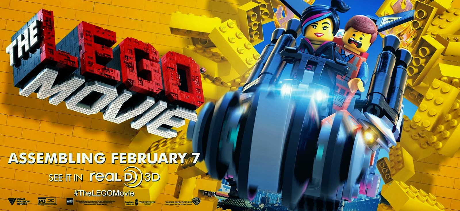 The LEGO Movie www.boxofficemovies.co.vu