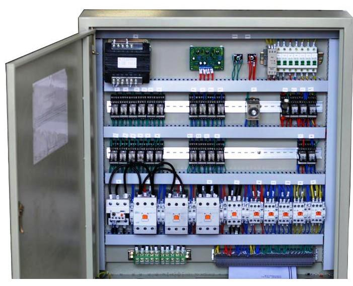 Control And Relay Panel Wiring Diagram : Lift control panel wiring diagram